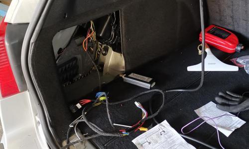 Renault vonóhorog villamossági bekötés